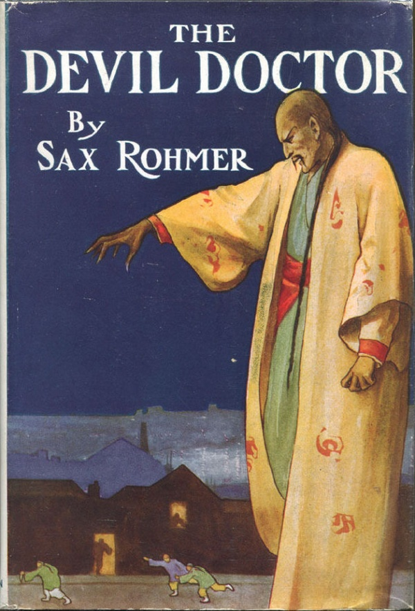 THE DEVIL DOCTOR by Sax Rohmer- 1955