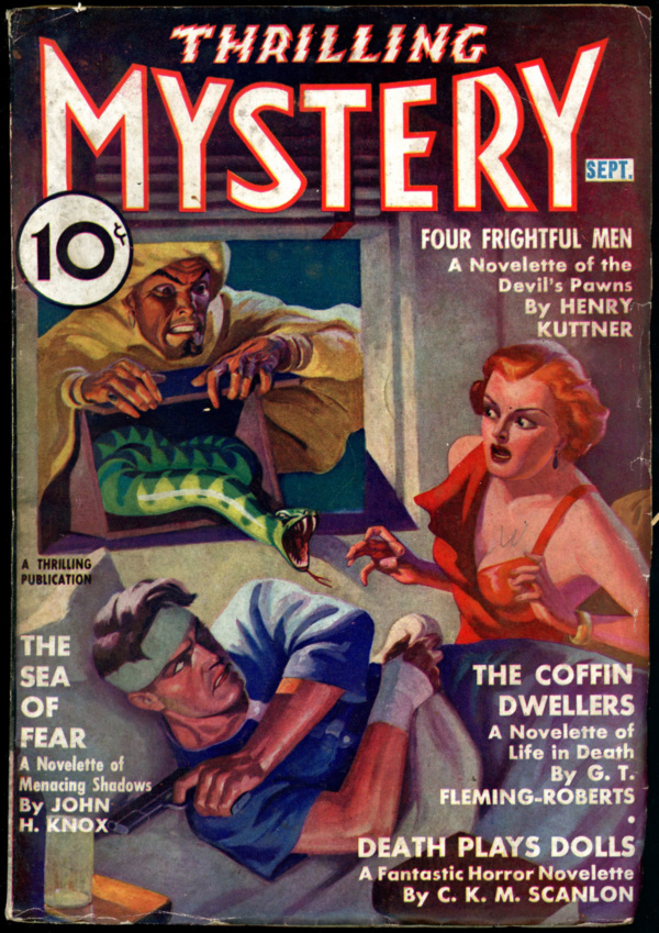 THRILLING MYSTERY. September 1937