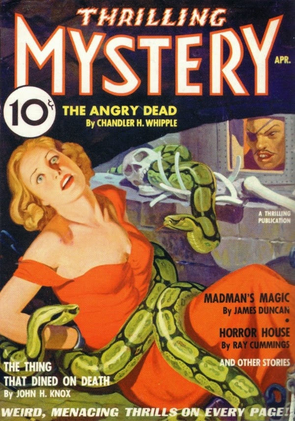 Thrilling Mystery Angry Dead