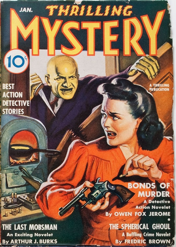 Thrilling Mystery January  1943