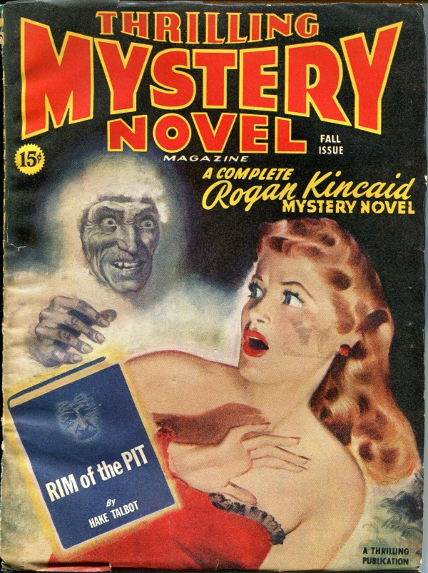 Thrilling Mystery Novel Fall 1945