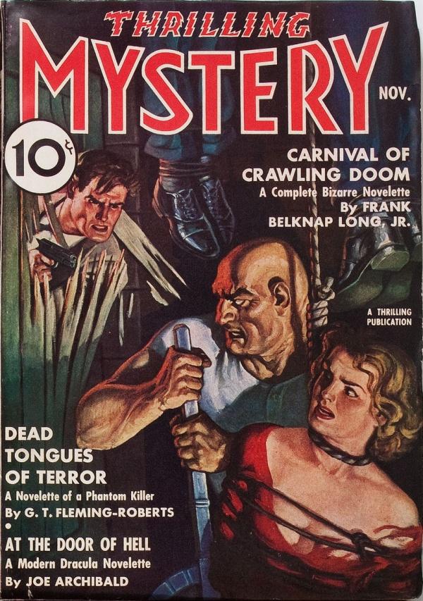 Thrilling Mystery, November 1937