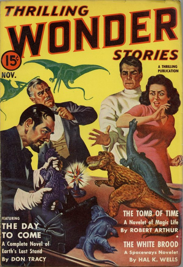 Thrilling Wonder Stories November 1940
