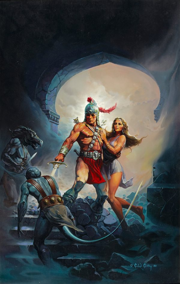 Warrior and Maiden, paperback cover, 1980