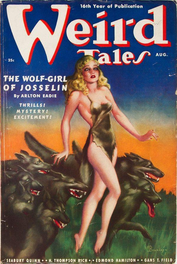 Weird Tales - August 1938
