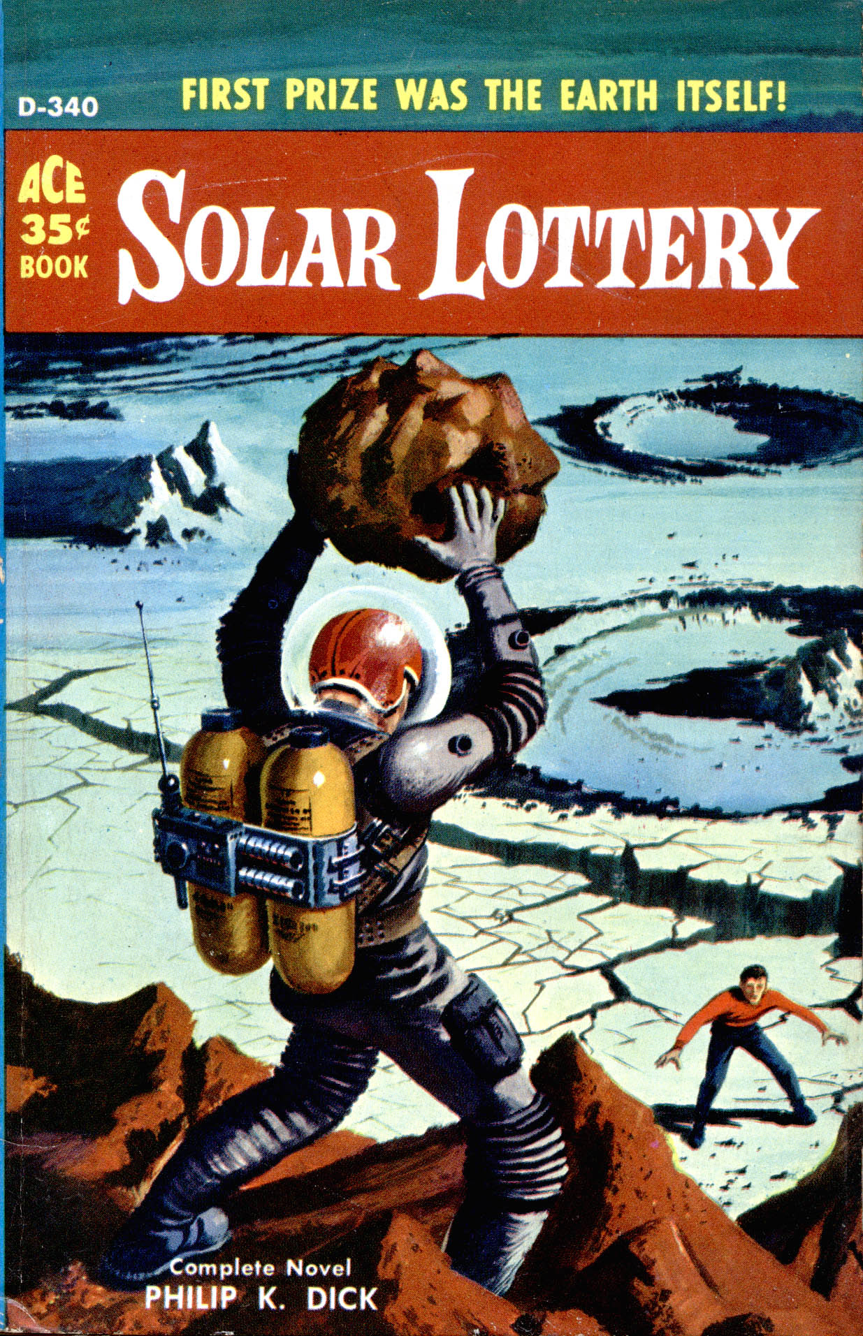 Solar Lottery – Pulp Covers