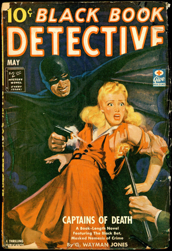 BLACK BOOK DETECTIVE. May 1943