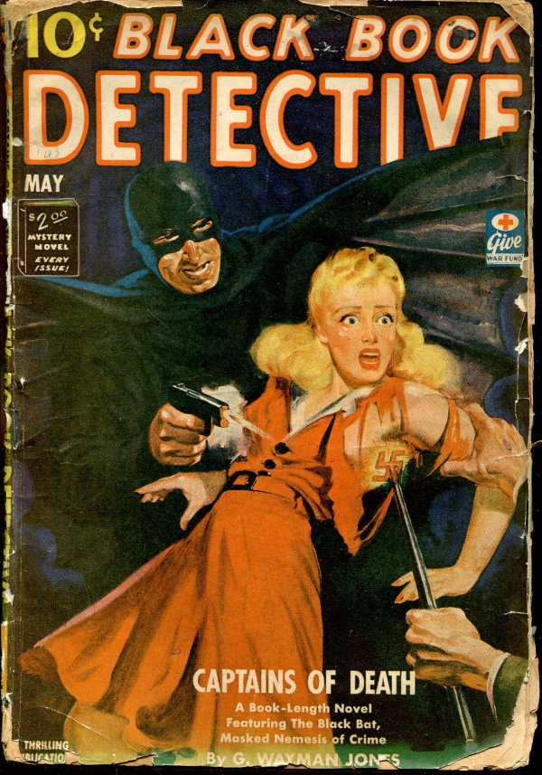 Black Book Detective May, 1943