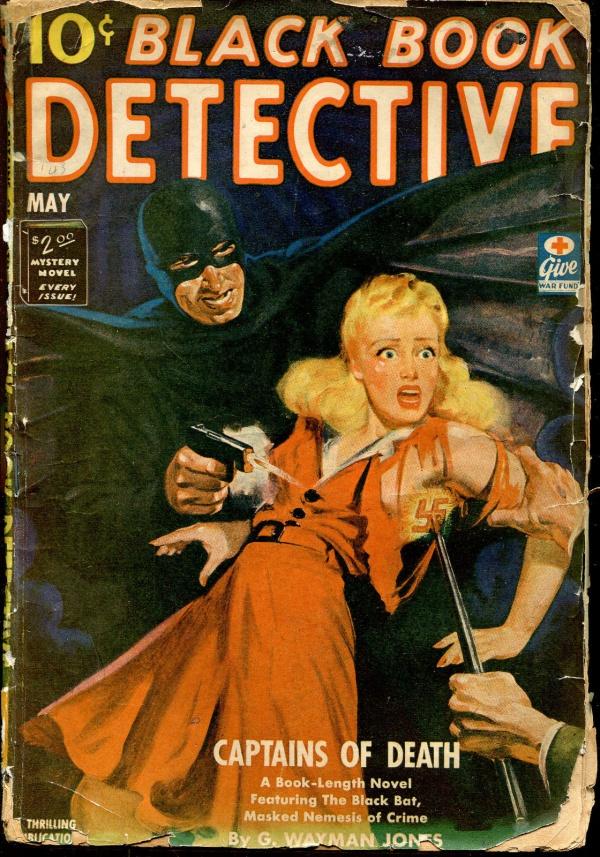 Black Book Detective May, 1943