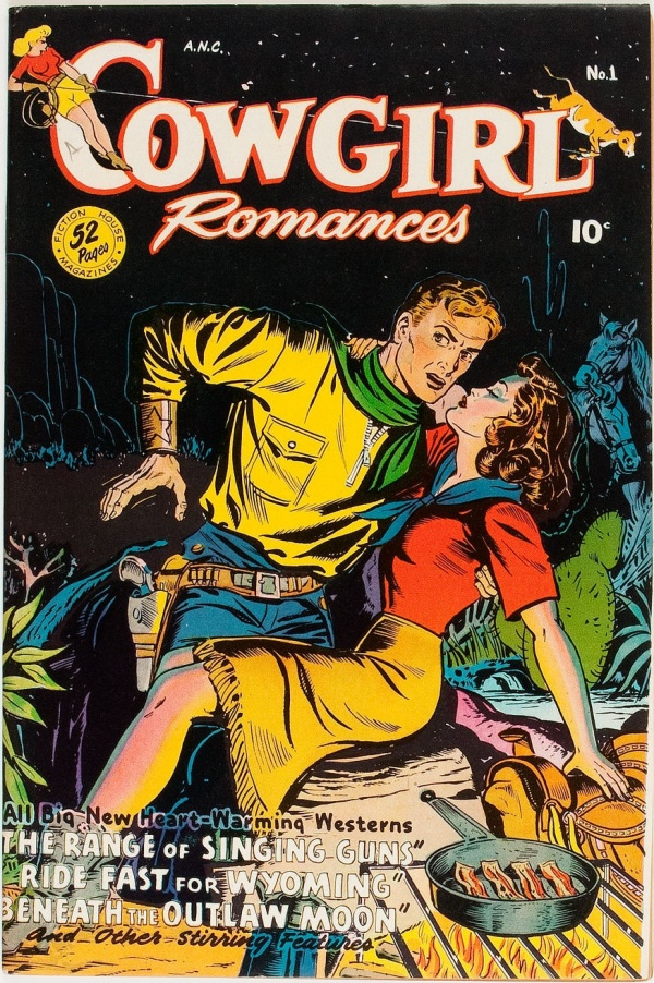 Cowgirl Romances #1 1950