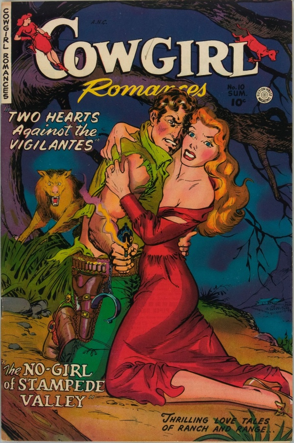 Cowgirl Romances #10 1952