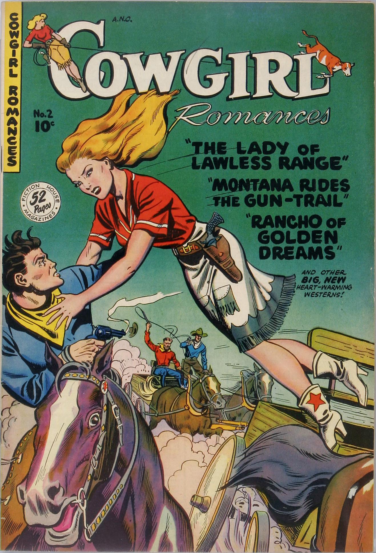 Cowgirl Romances  Pulp Covers-5183
