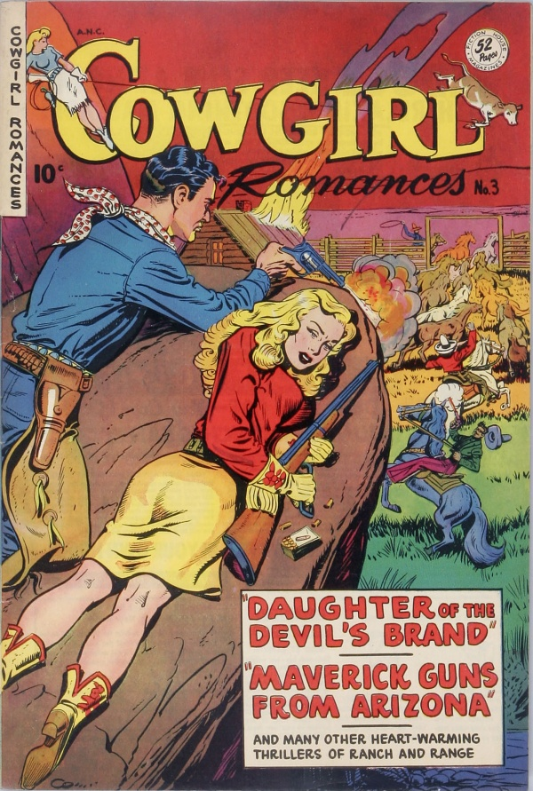 Cowgirl Romances #3 1950