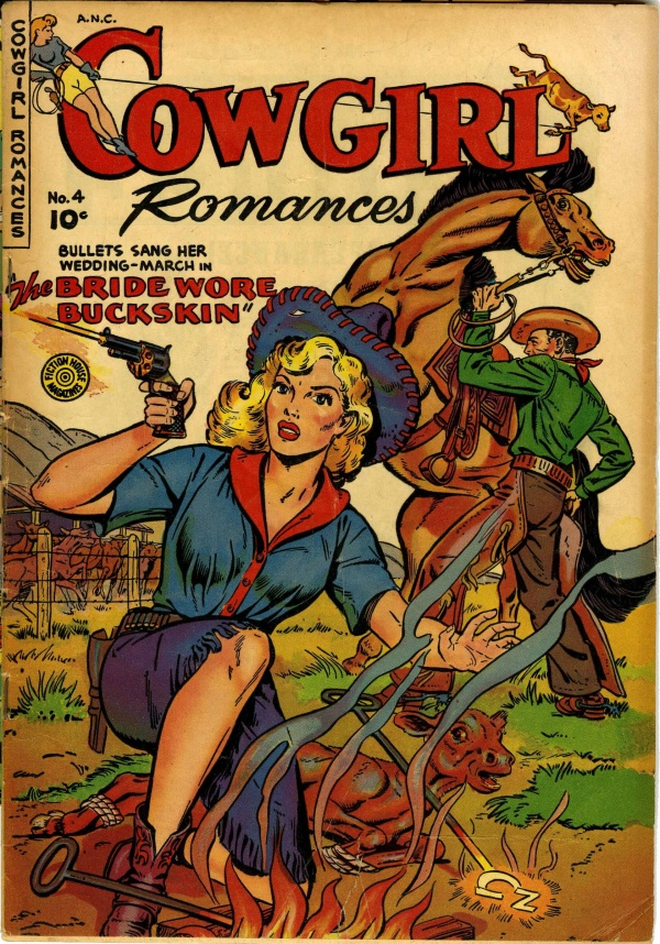 Cowgirl Romances #4 1951