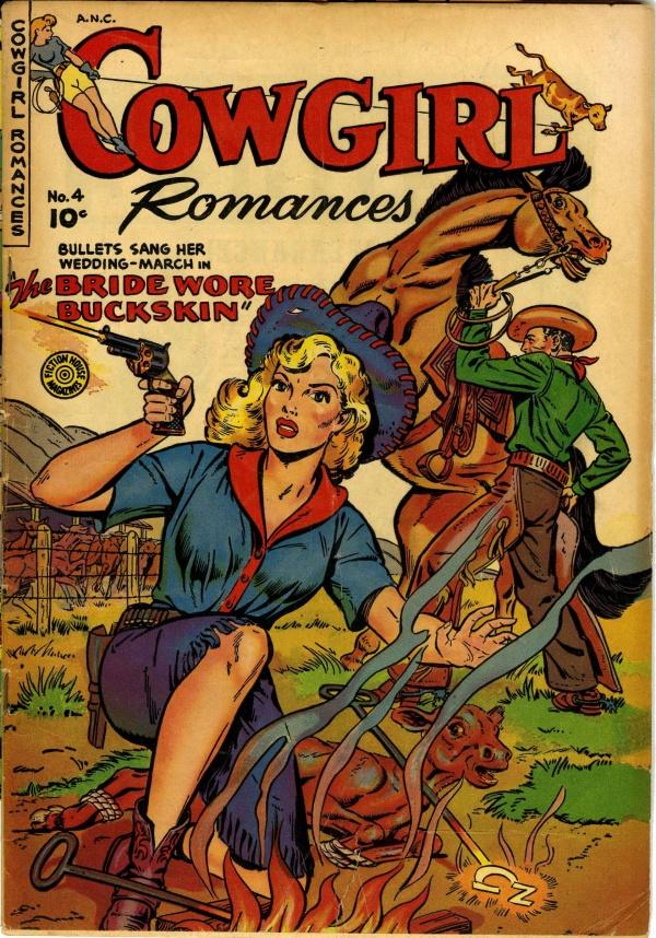 Cowgirl Romances #4 1951