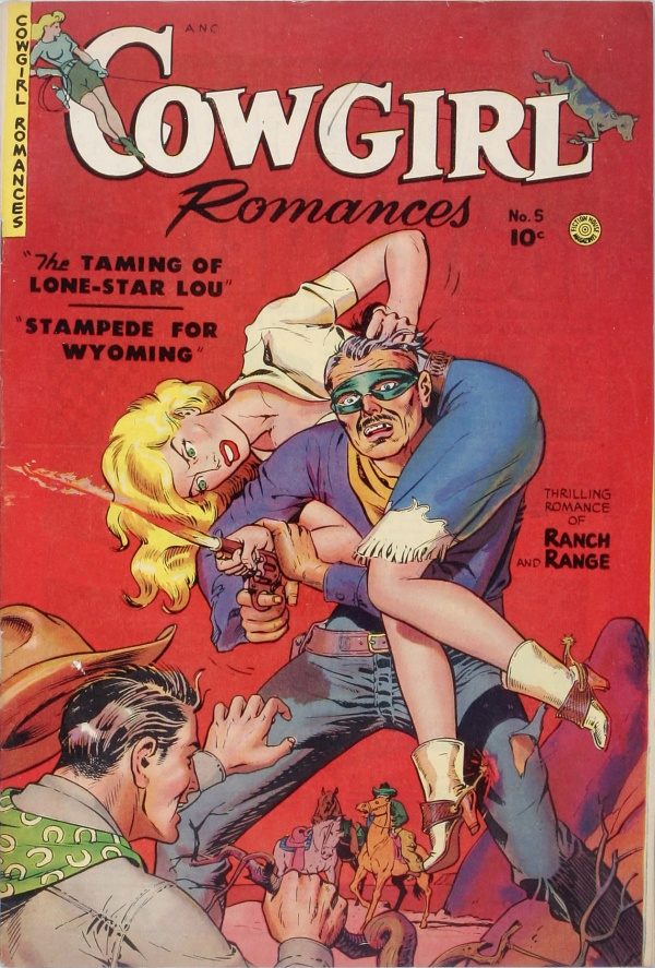 Cowgirl Romances #5 1951