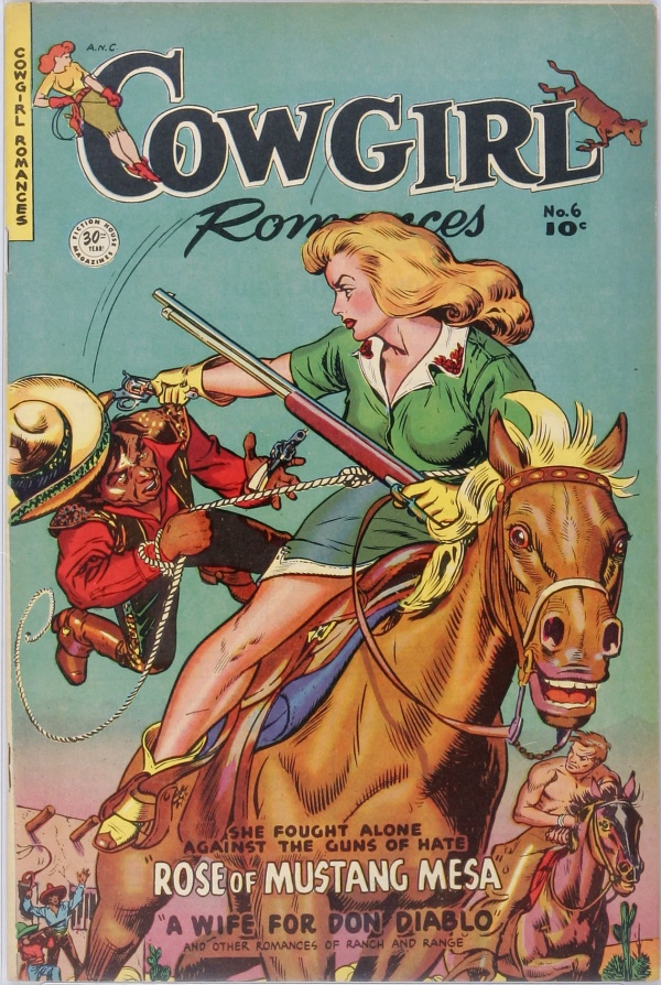 Cowgirl Romances #6 1951