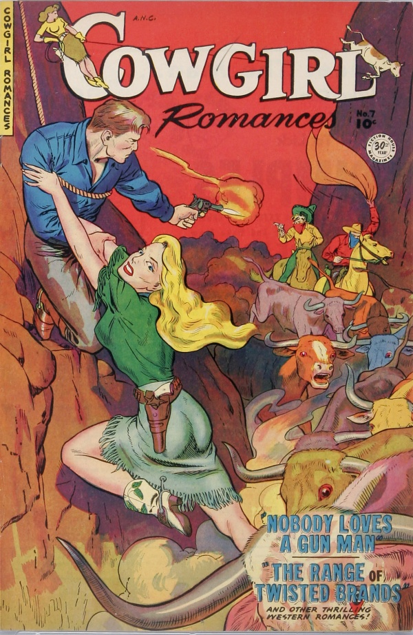 Cowgirl Romances #7 1951