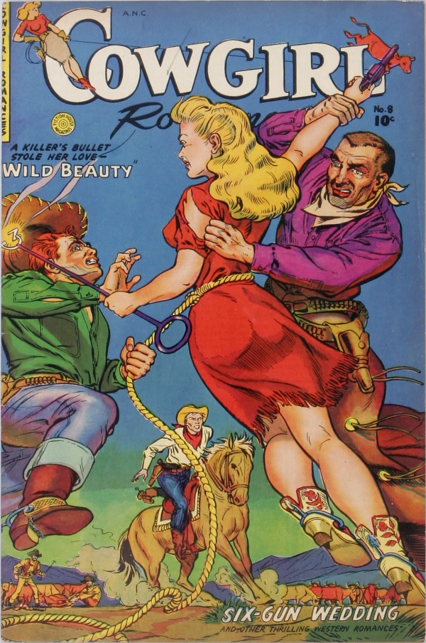 Cowgirl Romances #8 1952