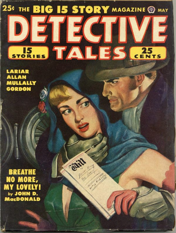 Detective Tales Magazine May 1950