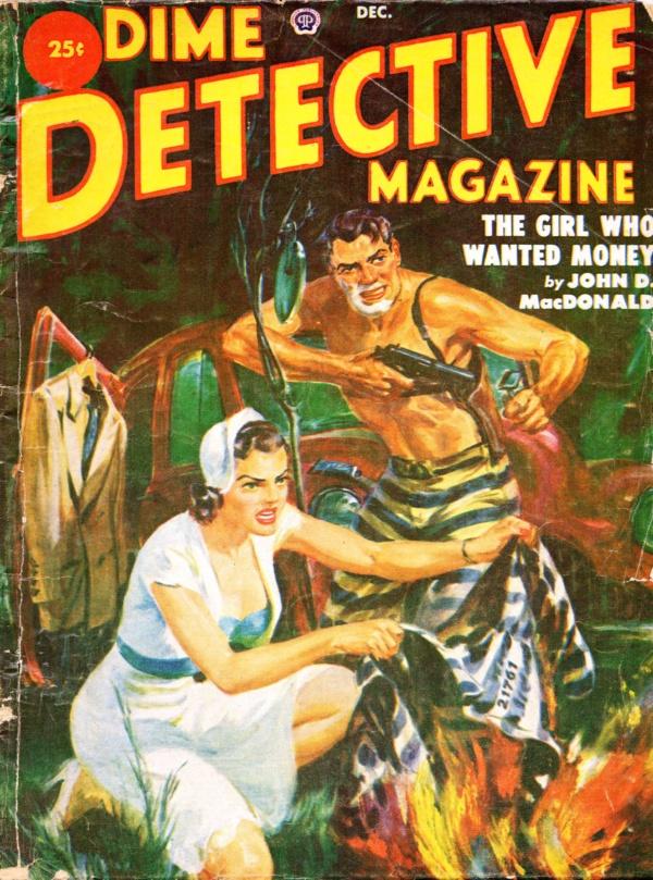 Dime Detective December 1951