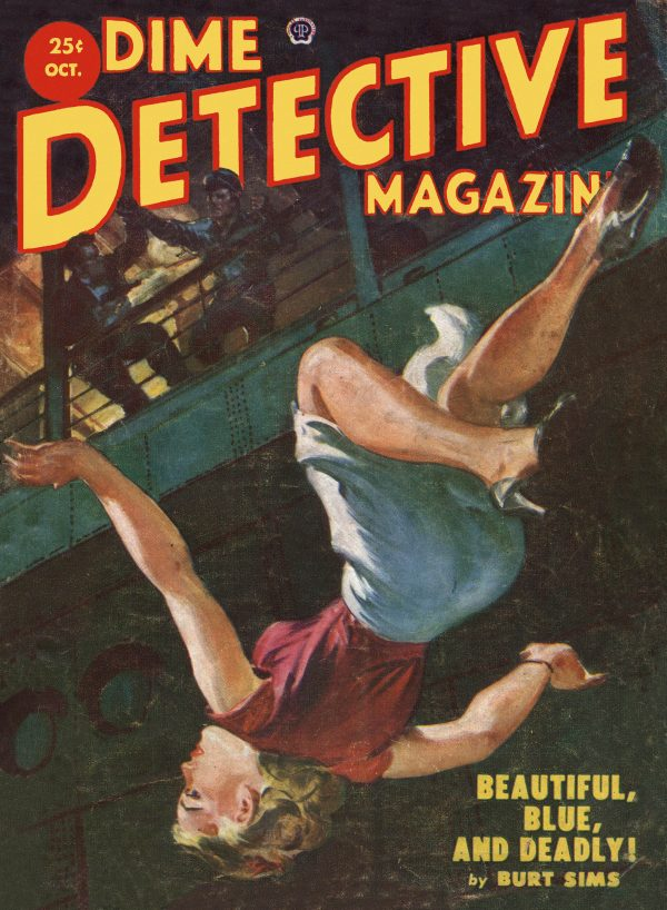 Dime Detective October 1952