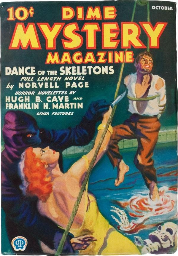 Dime Mystery Magazine - January 1933