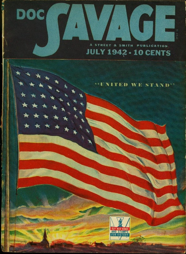 Doc Savage July 1942