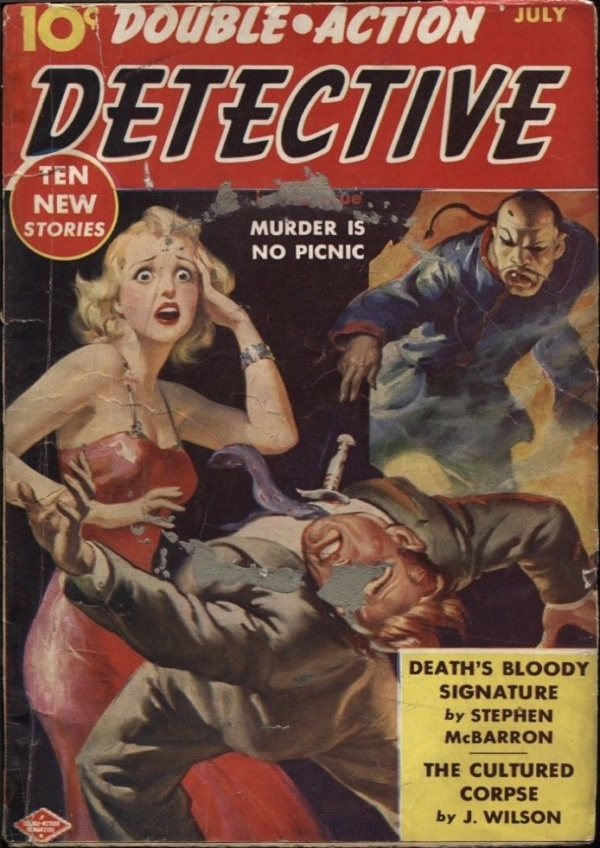 Double Action Detective 7-1940