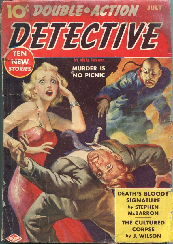 Double Action Detective July 1940