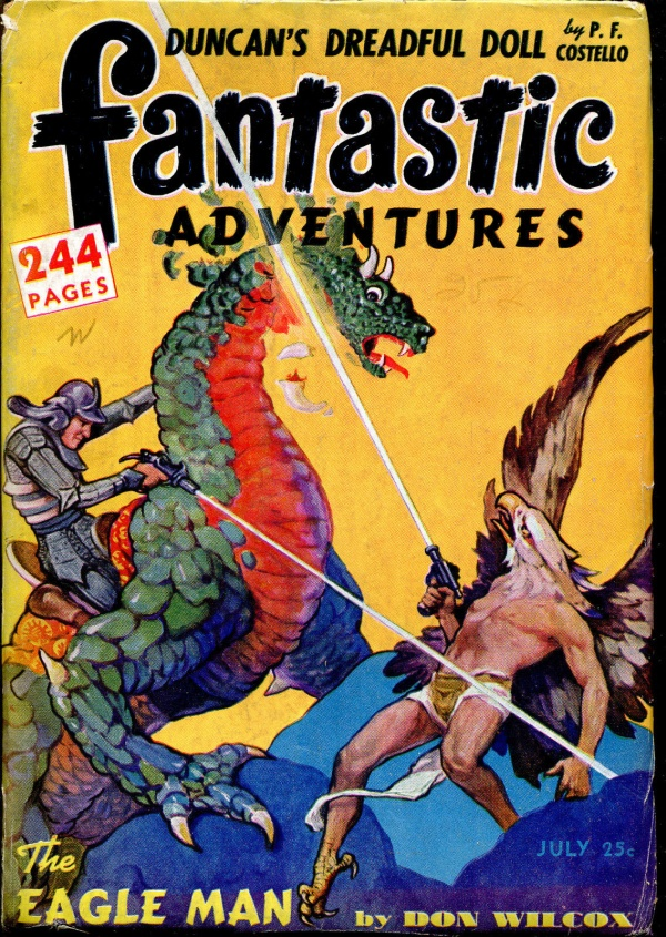 Fantastic Adventures July, 1942