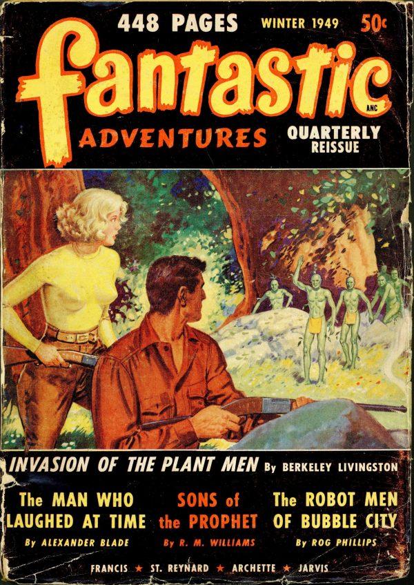 Fantastic Adventures Quarterly December 1949