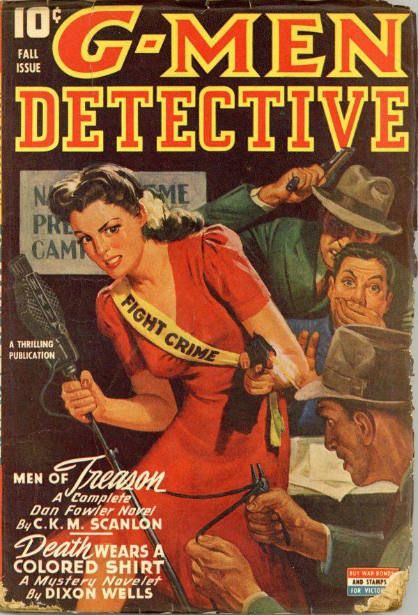G-Men Detective September 1943