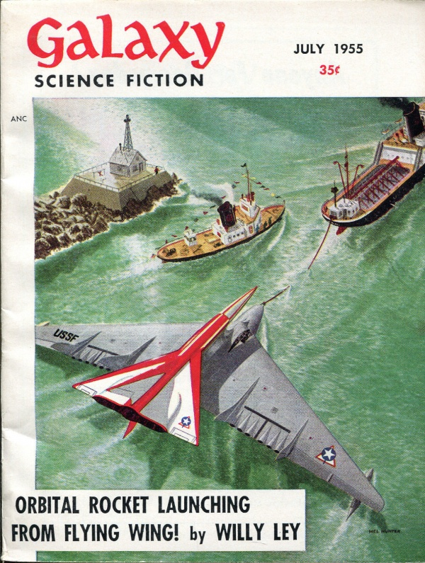 Galaxy Science Fiction, July 1955