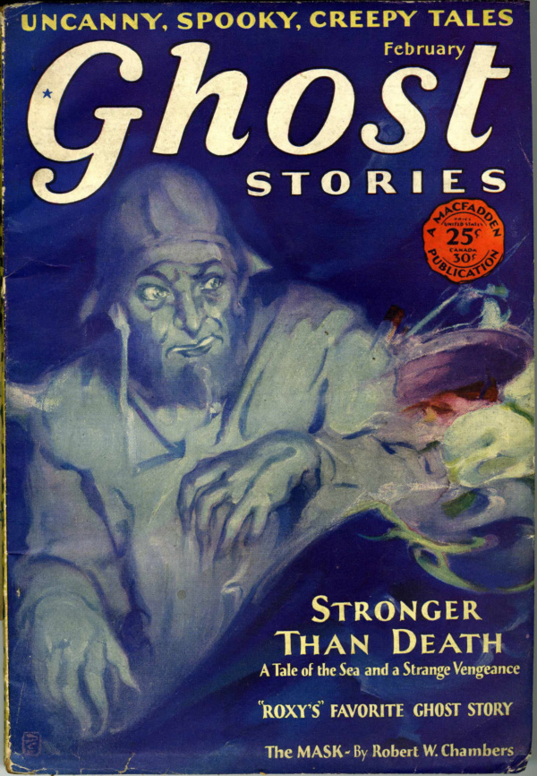 Ghost Stories February 1930