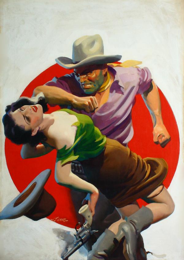 H.J.Ward_Romantic_Western
