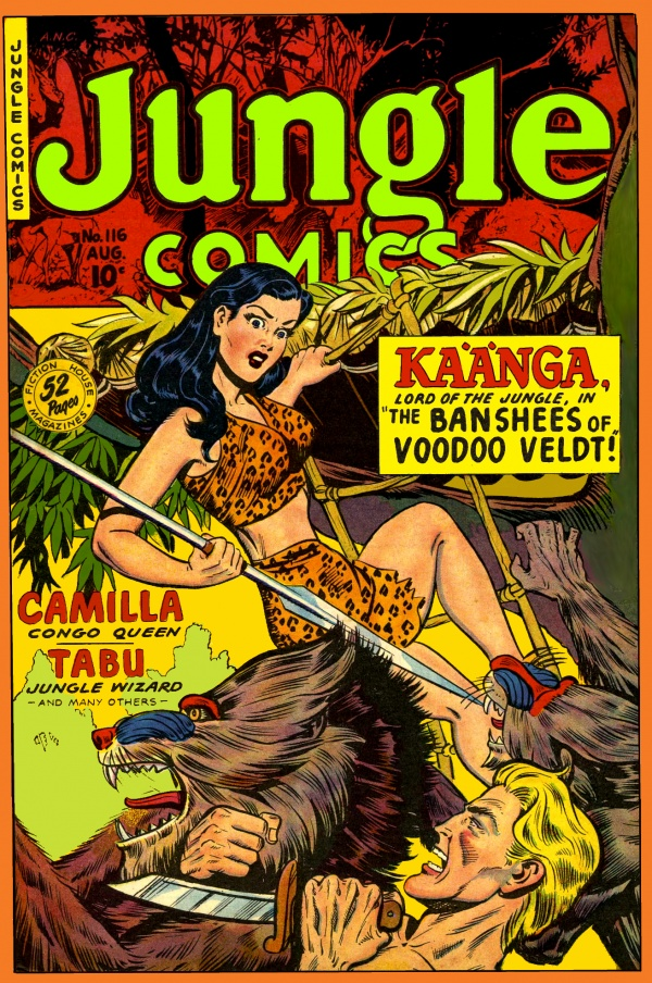 Jungle Comics #116 1949
