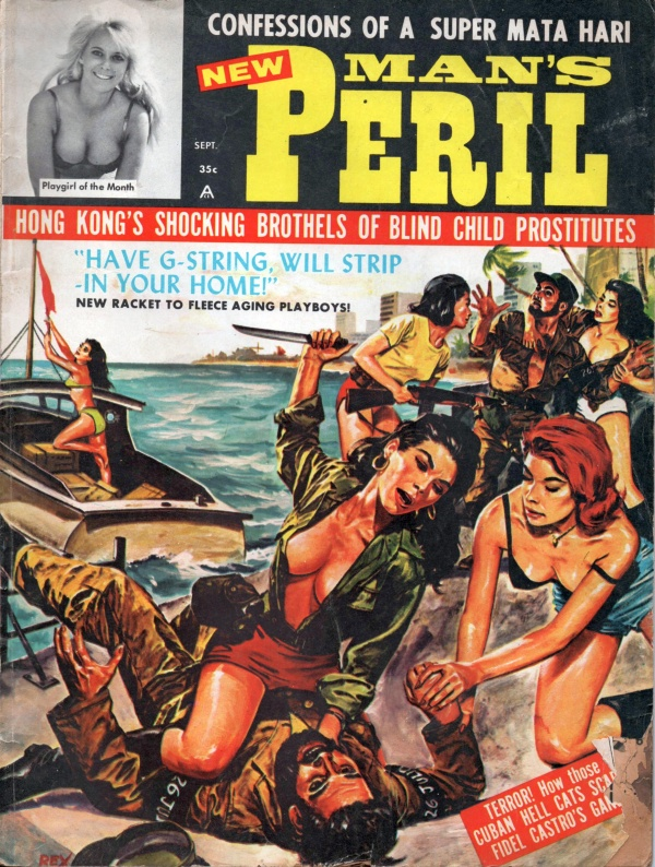 MANS PERIL September 1964 6-12