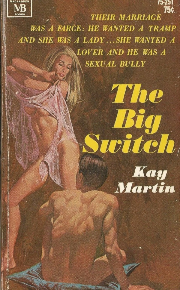 MacFadden Books The Big Switch Kay Martin 1969