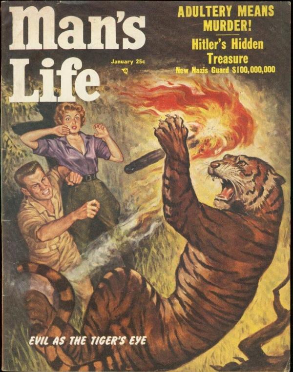 Man's Life January 1955