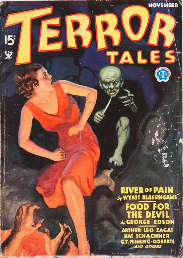 November 1934 - Terror Tales