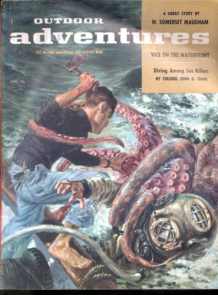 Outdoor Adventures April 1957