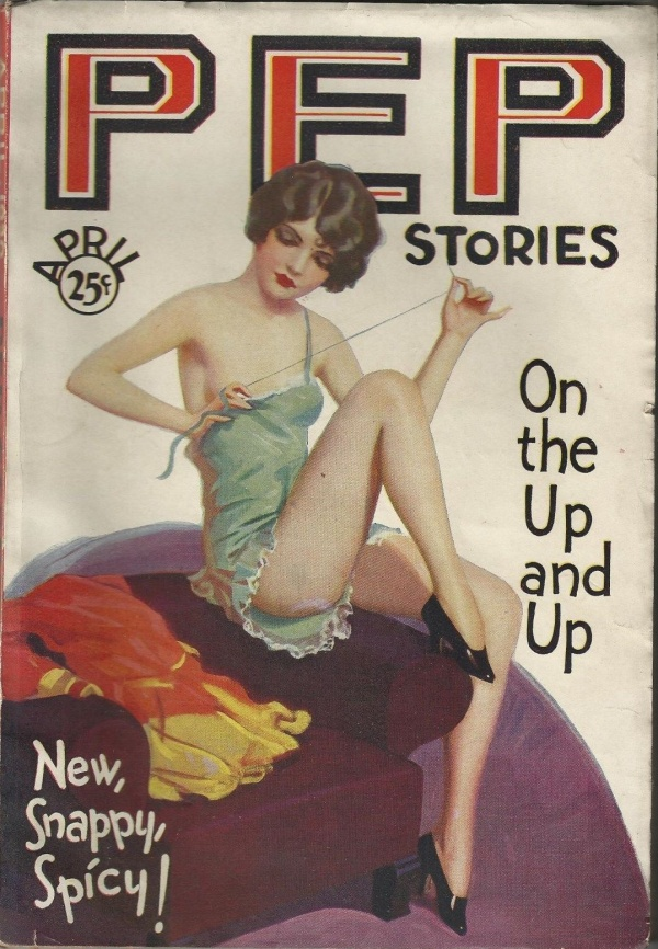 Pep Stories April 1930