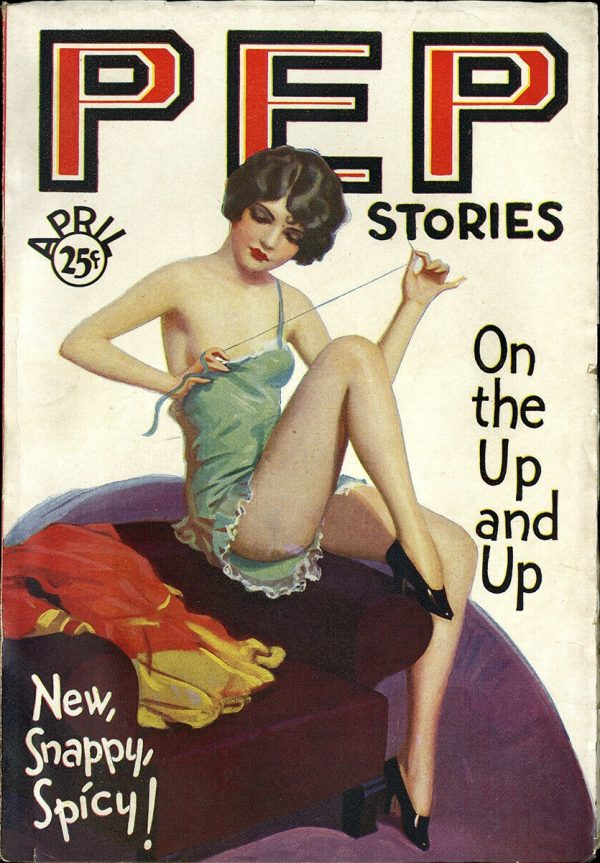 Pep Stories Magazine April 1930