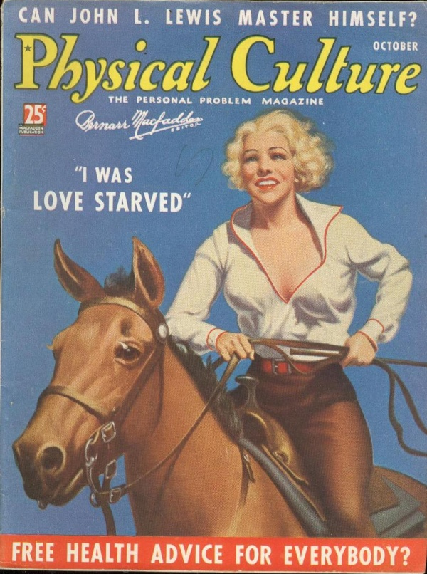 Physical Culture October 1937