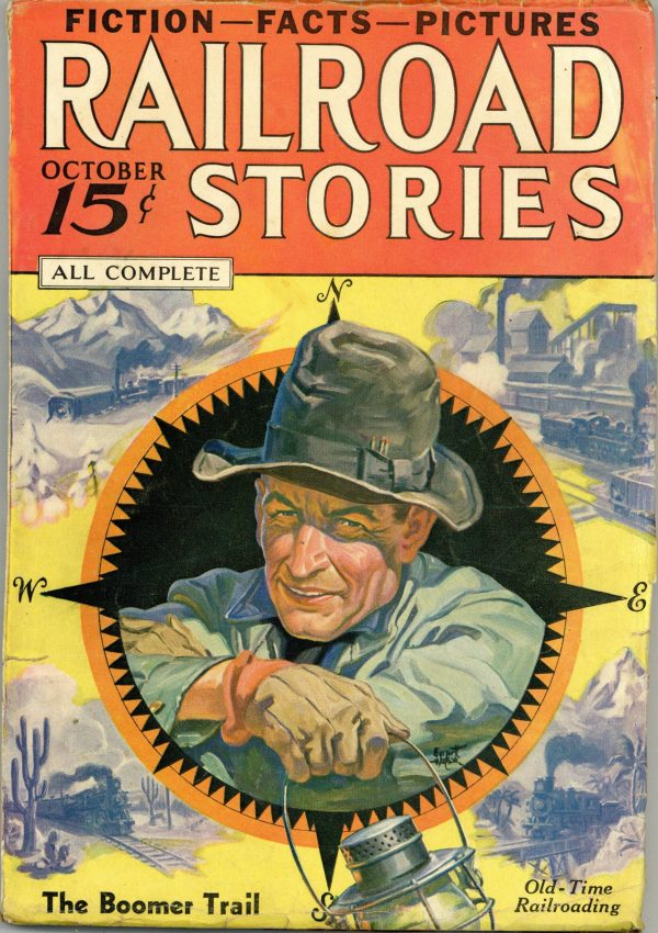 Railroad Stories October 1935