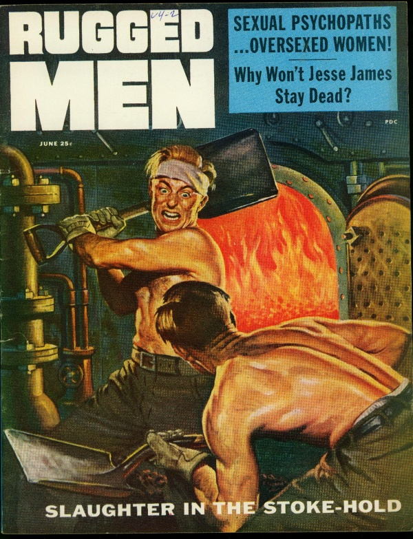 Rugged Men June 1956