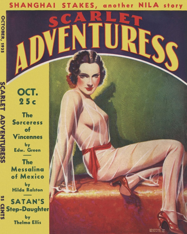 Scarlet Adventuress October 1935