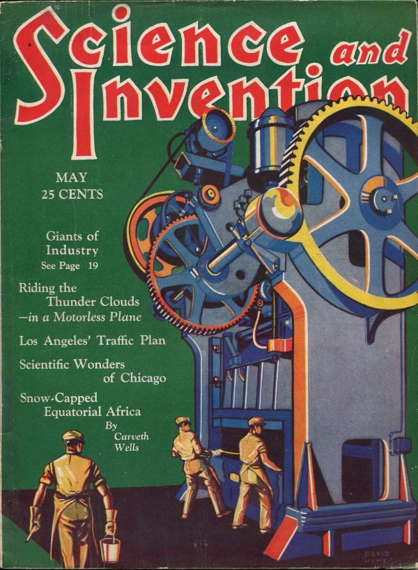 Science and Invention May 1930