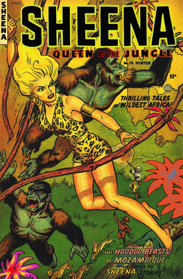 Sheena, Queen of the Jungle #14